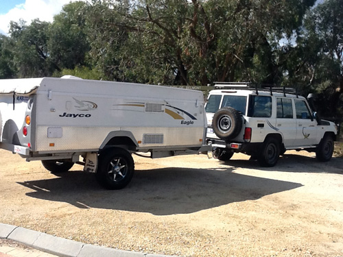 Ask about a Camper Trailer Plus 4WD Combo!