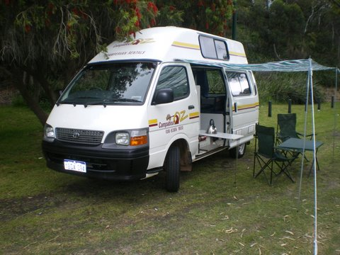 Beautiful Motorhome Rental Australia