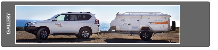 Camper Trailer Plus 4WD Combo Rental