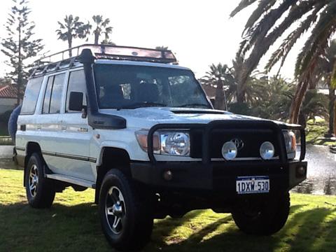 4WD Camper Rental Australia
