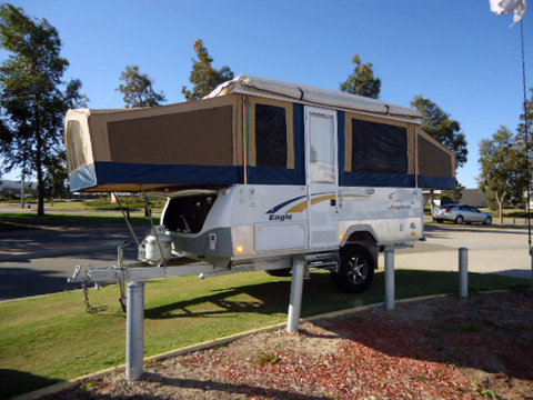 Camper Trailer for Rent