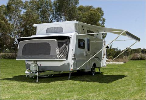 Model Mining Exploration Caravan Hire Perth  Fiesta Caravan Hire
