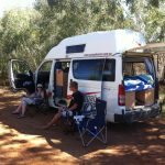 Camping without roughing it. Camper vans make camping easy.