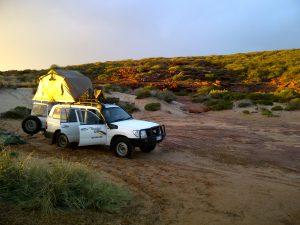 4WD Rooftop Camper Rental